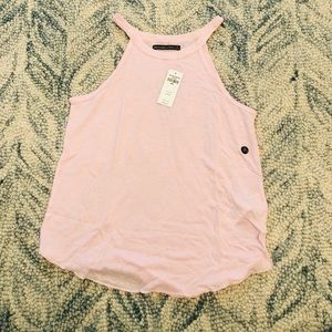 Brand New Abercrombie & Fitch pink tank tops